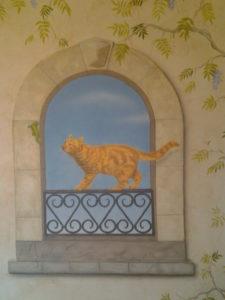 fresque chat