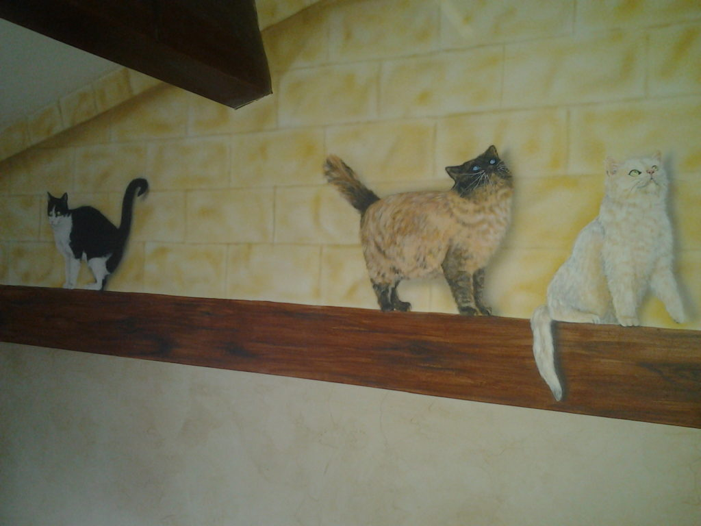 fresque chats