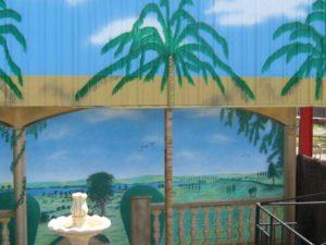 fresque murale sur tôle Dicothèque Scarabée à Albi