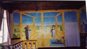 fresque murale à Sedan