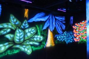 décor labyrinthe