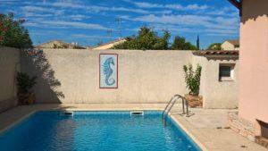 Mur de piscine